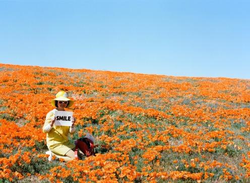 Shirley Kurata - road trip with rodarte antelope valley, California