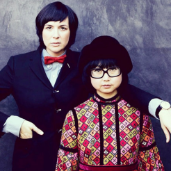 Shirley Kurata and her friend Autumn Wilde, by Paper Magazine