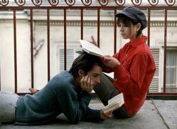 Juliet Berto and Jean-Pierre Léaud in La chinoise by Jean-Luc Godard (1967)
