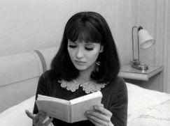 Anna Karina in Alphaville by Jean-Luc Godard (1965)