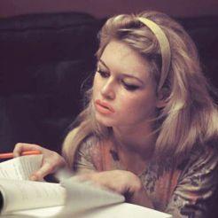 Brigitte Bardot by Burt Glinn, 1958