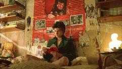 Louis Garrel in The Dreamers by Bernardo Bertolucci